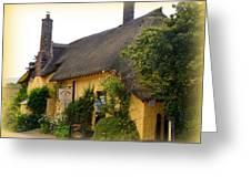 Somerset Tea Room Greeting Card