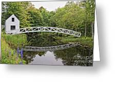 Somes Bridge Greeting Card