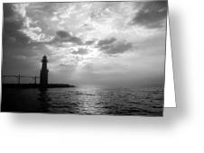 Somewhere Out There Greeting Card