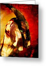 Son Of Perdition Greeting Card