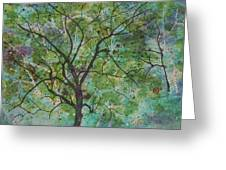 Song Of The Trees Greeting Card