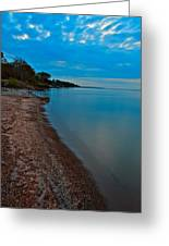 Soothing Shoreline Greeting Card