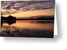 Sorbet Skies Greeting Card