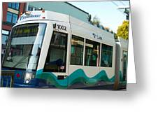 Sounder Train Greeting Card