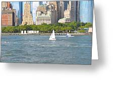 South Ferry Water Ride4 Greeting Card