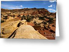 South Fruita Overlook Greeting Card