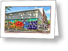 South Haven Storefronts Greeting Card