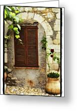 South Of France Greeting Card