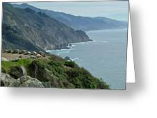 South Of Monterrey  Greeting Card