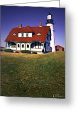 South Portland Lighthouse Greeting Card