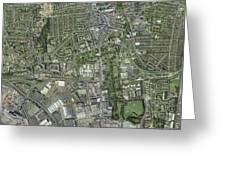 Southampton,uk, Aerial Image Greeting Card