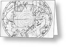 Southern Celestial Map Greeting Card