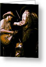 Southern Jam By The Cdb Greeting Card
