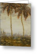 Southern Palms 3 Greeting Card