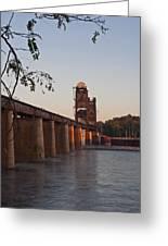 Southern Railroad Bridge Greeting Card