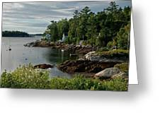 Southport Maine Greeting Card