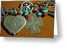 Southwest Style Jewelry With Texas Star Greeting Card