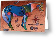 Southwestern Symbols Greeting Card