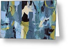 Spa Abstract 1 Greeting Card by Debbie DeWitt
