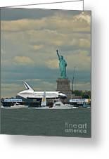 Space Shuttle Enterprise 2 Greeting Card