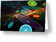 Space Travel In 2112 Greeting Card