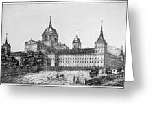 Spain: El Escorial, C1860 Greeting Card