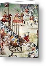 Spain: Higueruela, 1431 Greeting Card