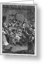 Spain: Inn, 1810 Greeting Card