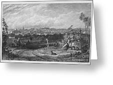 Spain: Madrid, 1833 Greeting Card
