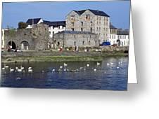 Spanish Arch, Galway City, Ireland Greeting Card