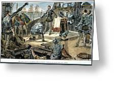 Spanish Armada Greeting Card by Granger