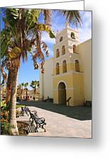 Spanish Mission In Todos Santos Greeting Card