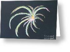 Sparkler Greeting Card by Alys Caviness-Gober