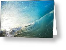 Sparkling Wave IIi Greeting Card