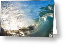 Sparkling Wave Greeting Card