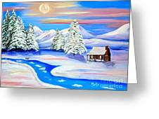 Sparkling Winter Greeting Card