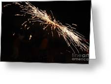 Sparks Disco Greeting Card