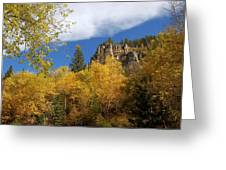 Spearfish Canyon Fortress In Rock Greeting Card