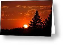 Spectacular Sunset II Greeting Card