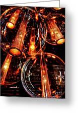 Spherical Lamps Greeting Card