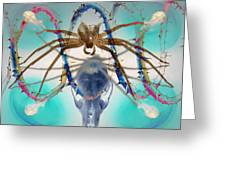 Spider Dna Greeting Card