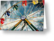 Spin City Greeting Card