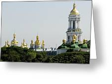 Spires Of Church Greeting Card