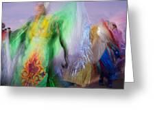 Spirit Dancer Greeting Card