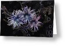 Spirit Flowers Greeting Card