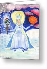 Spirit Of Winter Greeting Card
