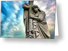 Spiritual Healing Greeting Card