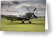 Spitfire Ready To Go Greeting Card