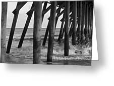 Splashing Waves Greeting Card