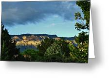 Splendor Of The Mountains Greeting Card
